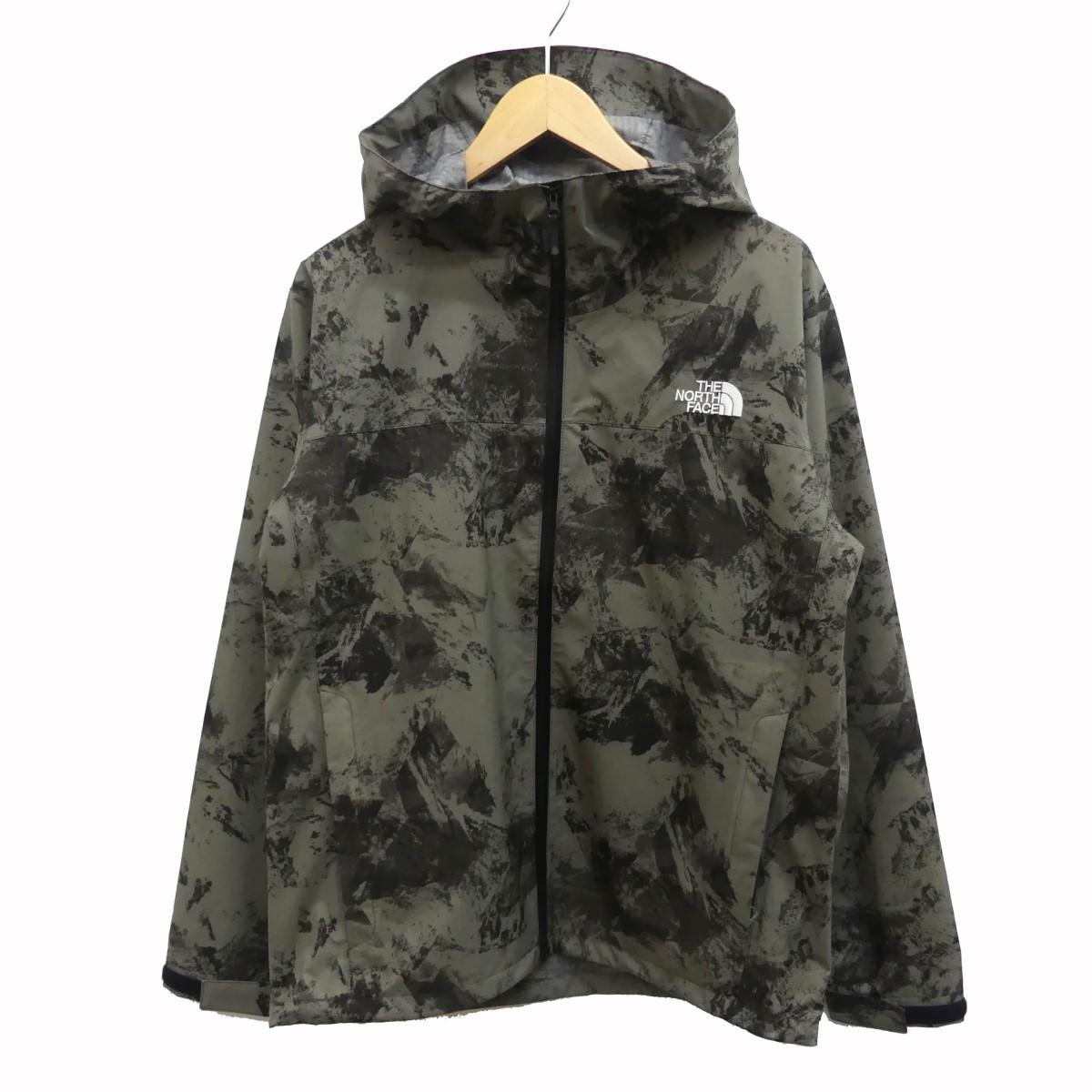 【中古】THE NORTH FACE Novelty Venture Jacket ノベルティベンチャージャケット カーキ サイズ:M 【110620】(ザノースフェイス)