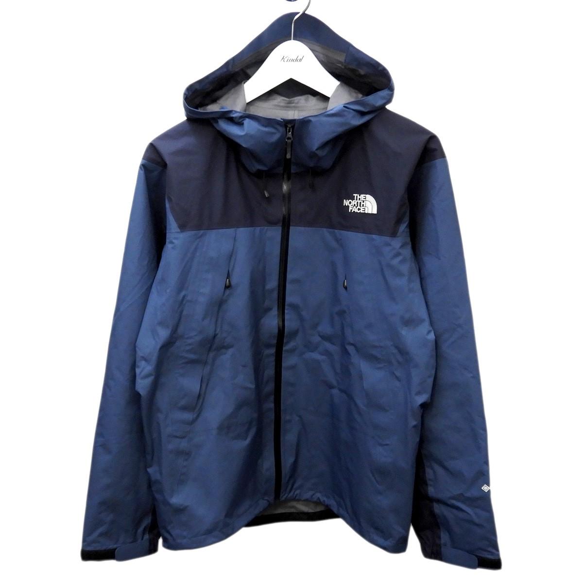 【中古】THE NORTH FACE 「Climb Light Jacket」GORE-TEXクライムライトジャケット シェイディーブルー×アーバンネイビー サイズ:M 【140620】(ザノースフェイス)