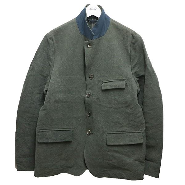 【中古】QUILP BLAINE ブレイン ホスピタル ジャケット オリーブ サイズ:M 【140620】(クイルプ)