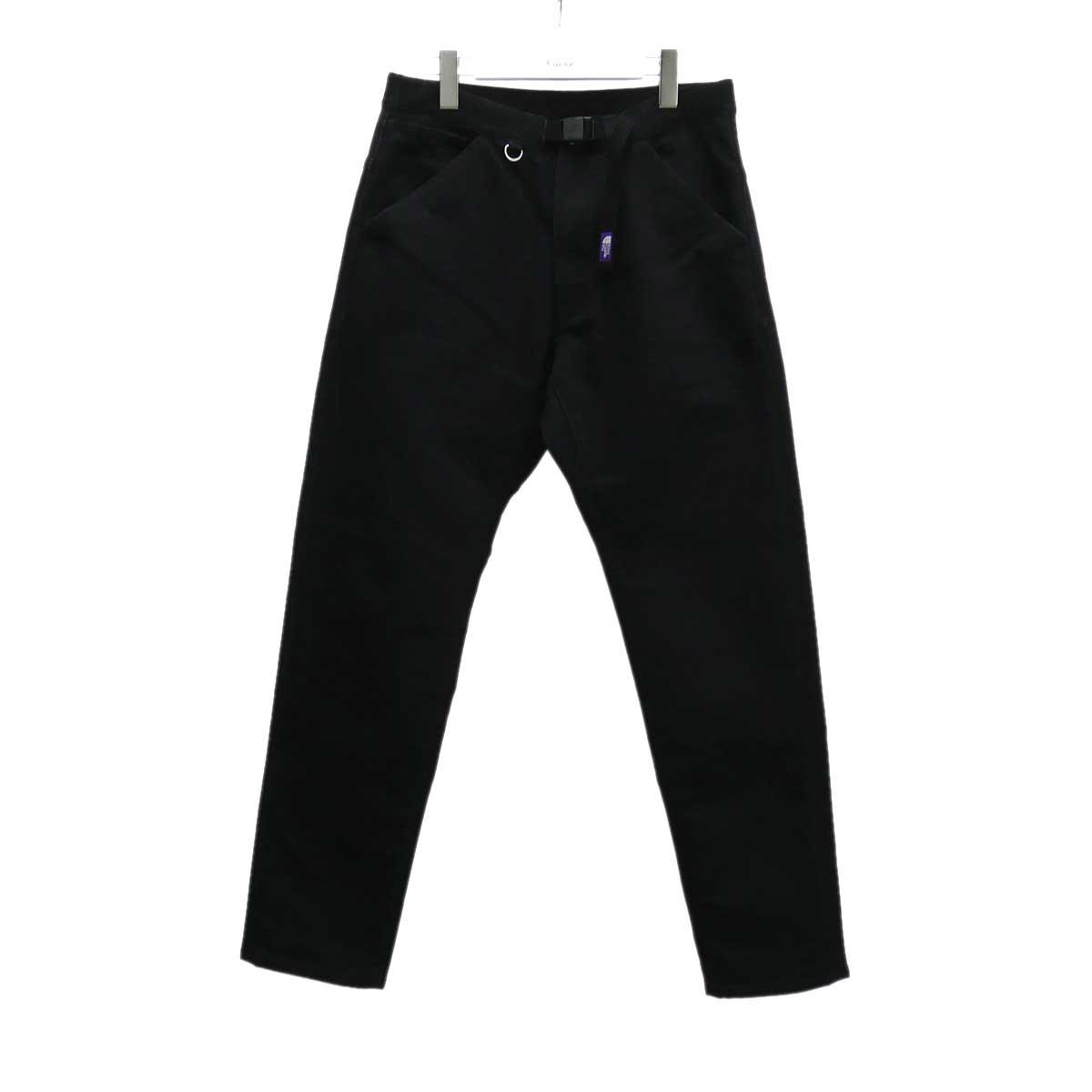 【中古】THE NORTH FACE PURPLE LABEL ウェッビングベルトデニムパンツ ブラック サイズ:30 【150620】(ザノースフェイス パープルレーベル)