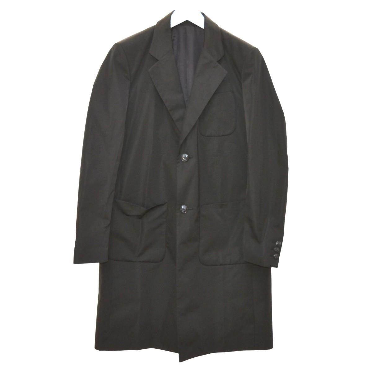 【中古】YUKI HASHIMOTO 20SS CHESTERFIELD CORT コート ブラック サイズ:46 【160620】(ユウキ ハシモト)