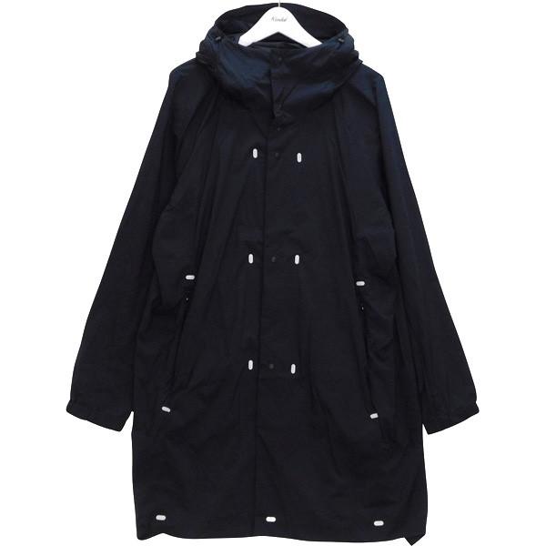 【中古】alk phenix dome coat ドームコート ストレッチコートジャケット ネイビー サイズ:L 【170620】(アルクフェニックス)