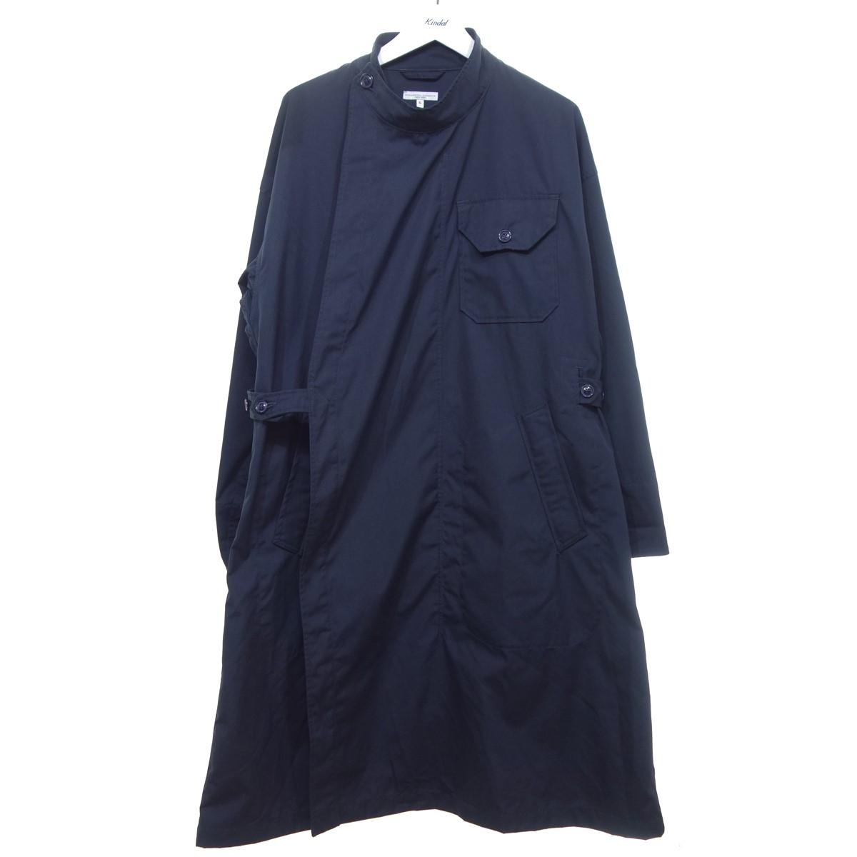【中古】Engineered Garments 【2020S/S】 MG Coat PC Poplin MGコート ネイビー サイズ:S 【180620】(エンジニアードガーメンツ)