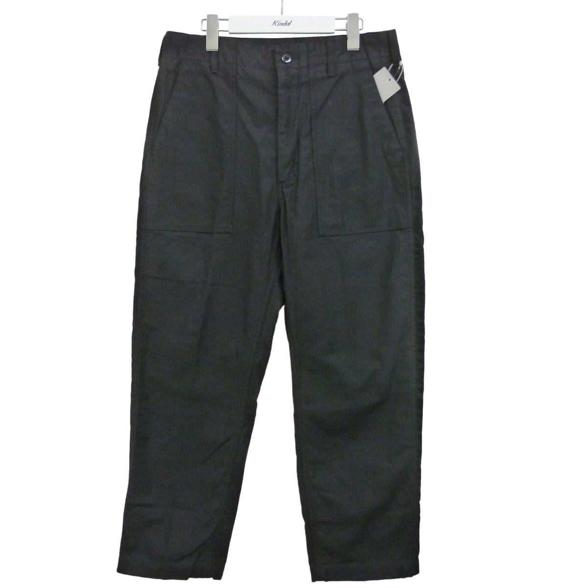 【中古】Engineered Garments × BEAMS PLUS 「DINER FATIGUE PANT BACK SATIN」ディナーパンツ ブラック サイズ:XS 【180620】(エンジニアードガーメンツ ビームスプラス)