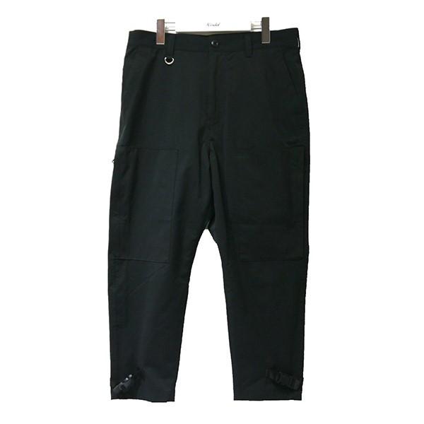【中古】SOPHNET.2020SS HEM BUCKLE FLIGHT PANTS パンツ SOPH-200041 ブラック サイズ:S 【8月13日見直し】