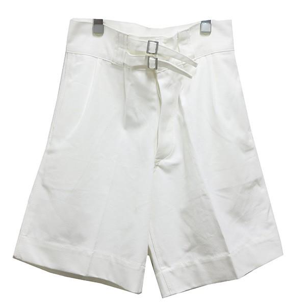 【中古】Italian military Gurkha Shorts ホワイト サイズ:6 【200620】(イタリアミリタリー)