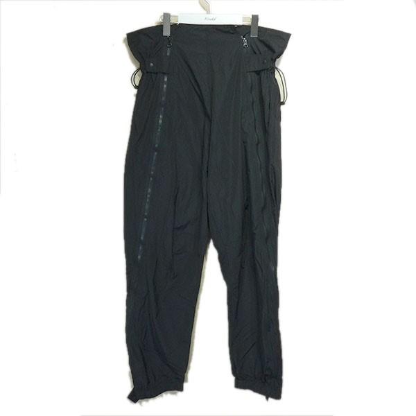 【中古】SASQUATCHfabrix. 2020SS「ZIP FLIGHT PANTS」ジップ装飾パンツ ブラック サイズ:M 【210620】(サスクワァッチファブリックス.)