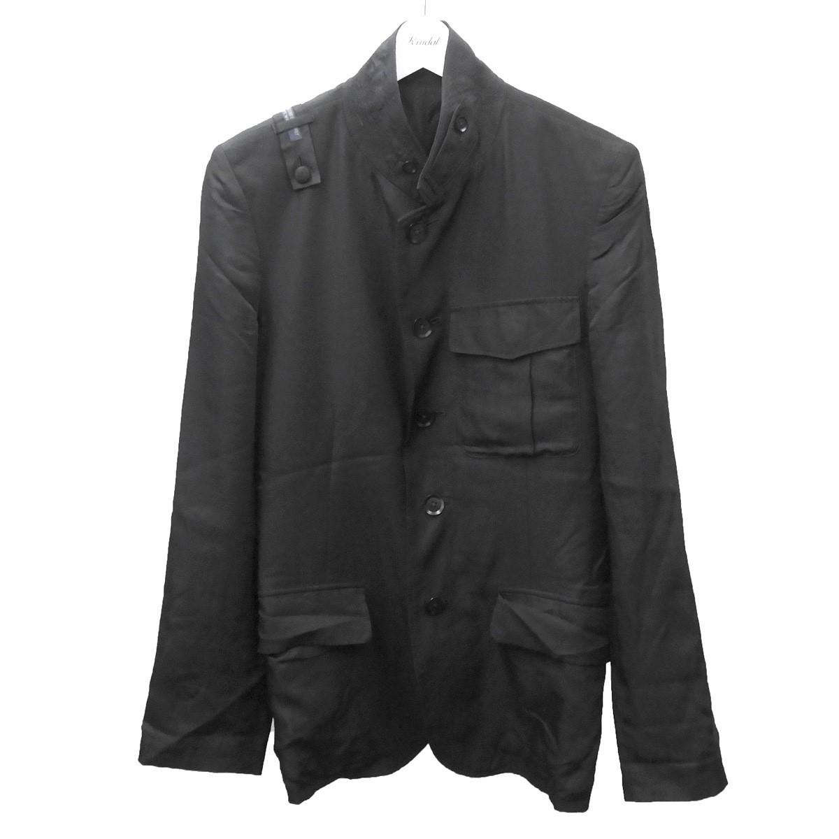 【中古】REGULATION Yohji Yamamoto テーラードジャケット ブラック サイズ:1 【220620】(レギュレーションヨウジヤマモト)