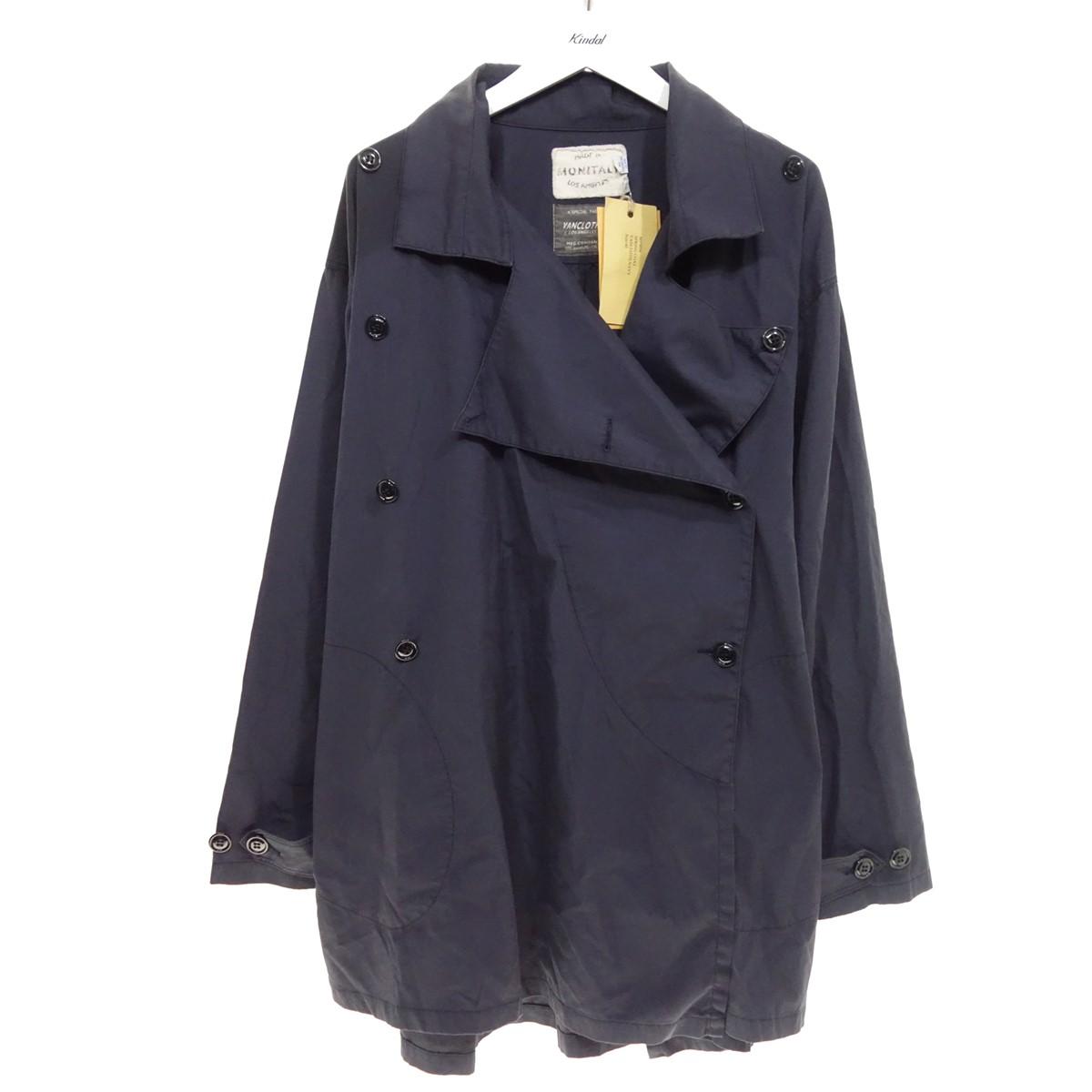 【中古】monitaly SPRING COAT スプリングコート ネイビー サイズ:40 【230620】(モニタリー)