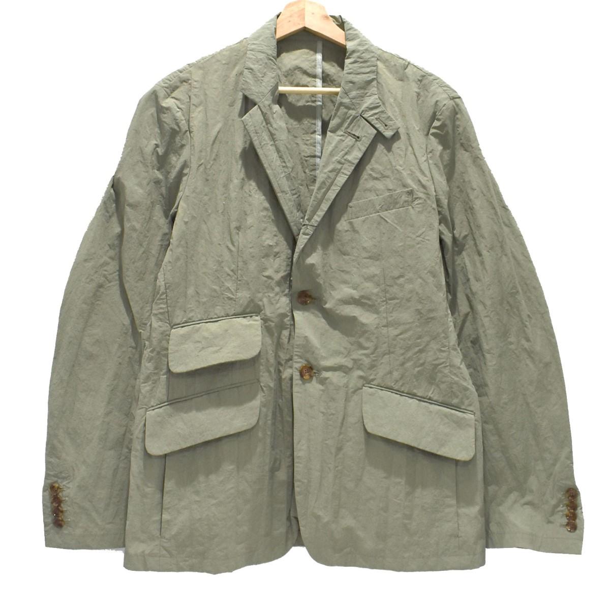 【中古】MINOTAUR Wrinkles Tailored Jacket  テーラードジャケット セージグリーン サイズ:L 【230620】(ミノトール)