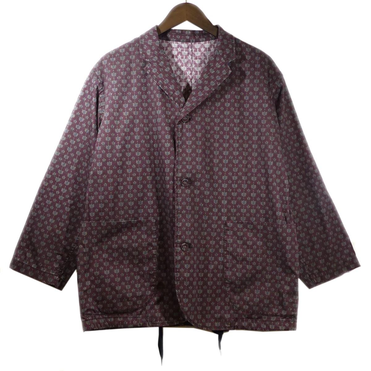 【中古】BRU NA BOINNEカモンコモン ブロラハンシャツ ジャケット バーガンディー サイズ:0