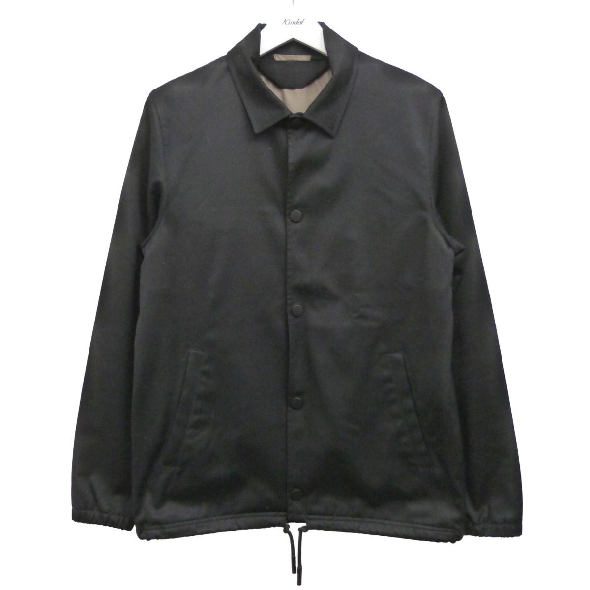 【中古】ACNE STUDIOS 15SS「TONY COTTON」コーチジャケット ブラック サイズ:48 【240620】(アクネストゥディオズ)