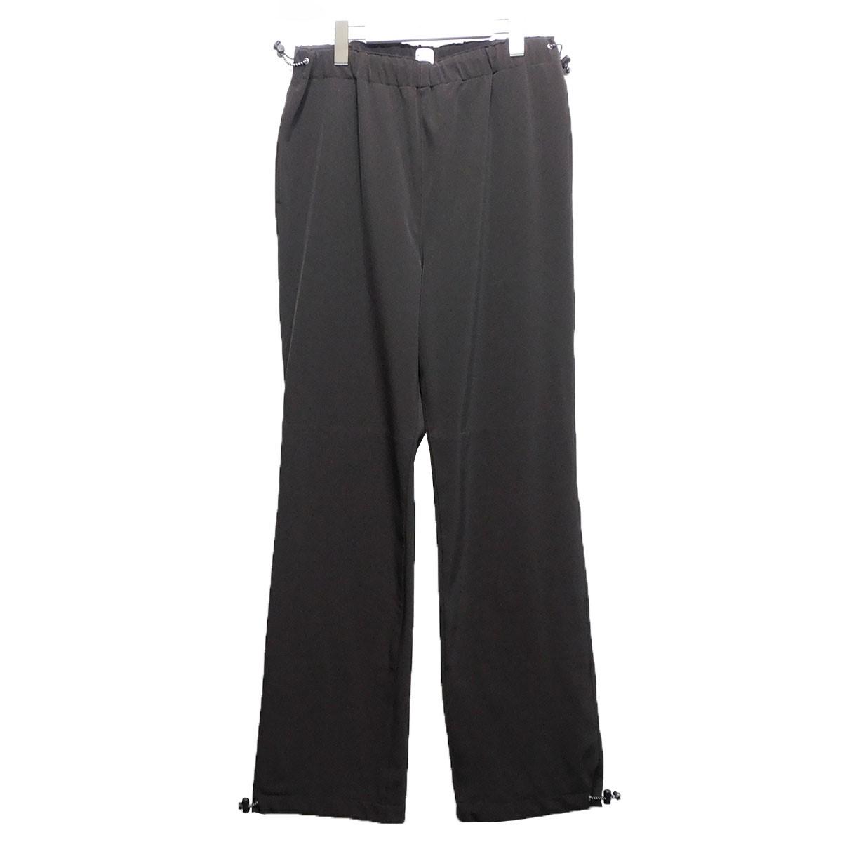 【中古】KAIKO 20SS 「FORCELESS TRAINNING PANTS」 トレーニングパンツ ブラウン サイズ:2 【240620】(カイコ)