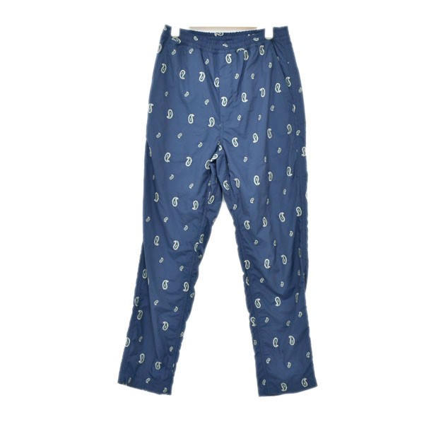 【中古】THE NORTH FACE PURPLE LABEL Paisley Embroidery Shirred Waist Pants 総柄パンツ ネイビー サイズ:30 【250620】(ザノースフェイス パープルレーベル)