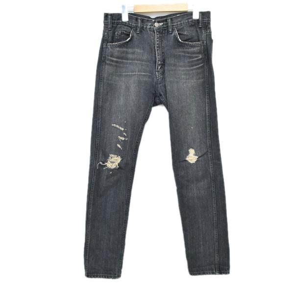 【中古】YSTRDY'S TMRRW 18SS SLIM LEG RODEO JEANS スリムレッグロデオジーンズ ブラック サイズ:32 【250620】(イエスタデイズトゥモロウ)