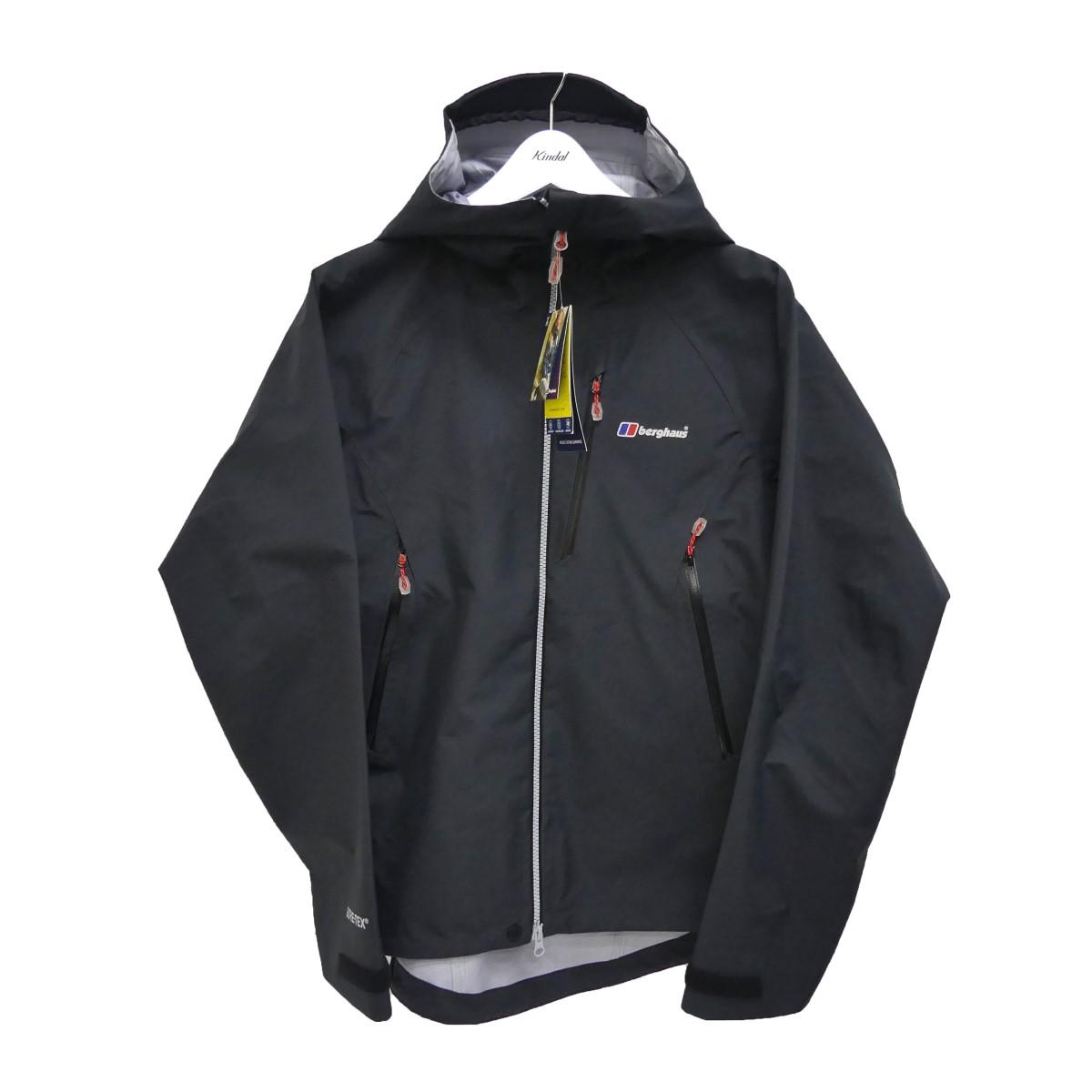 【中古】berghaus EXTREM 5000 PZ JACKET エクストレムジャケット ブラック サイズ:L 【250620】(バーグハウス)