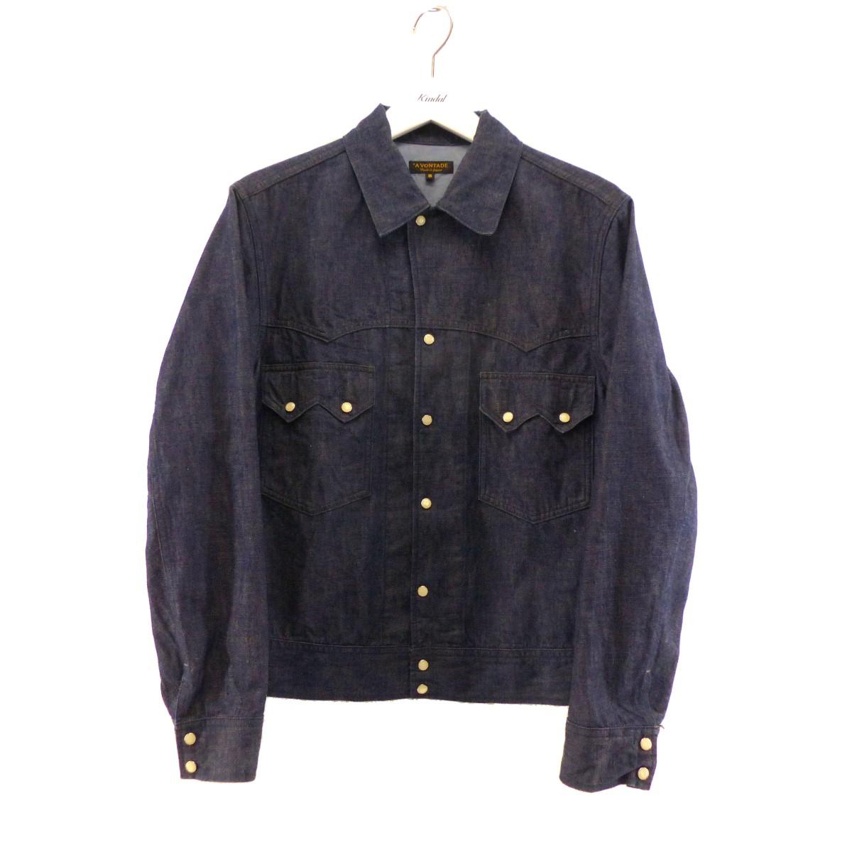 【中古】A VONTADE Cowboy Jacket インディゴ サイズ:S 【260620】(ア・ボンタージ)
