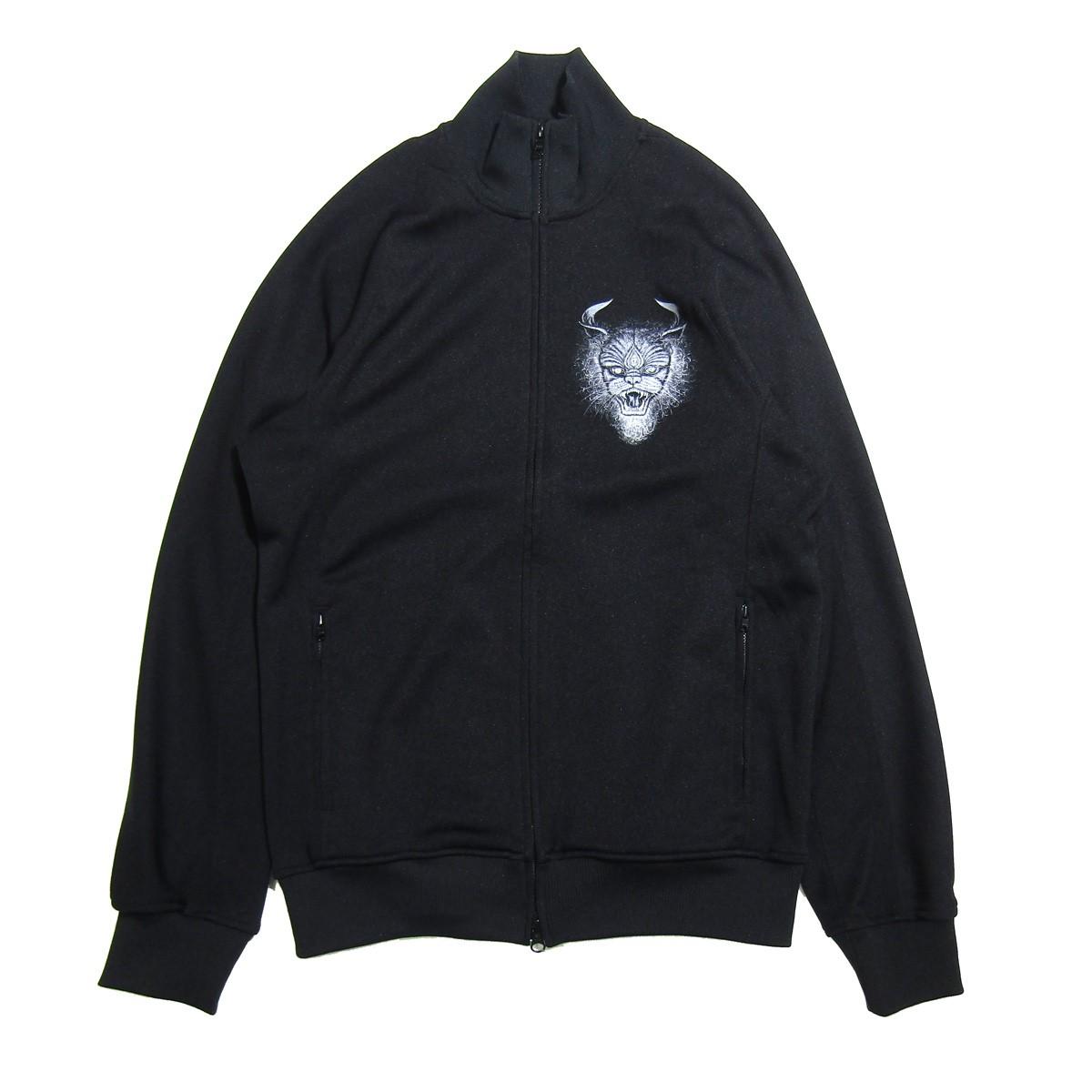 【中古】Y-3 2019AW プリントトラックジャケット ブラック サイズ:M 【260620】(ワイスリー)