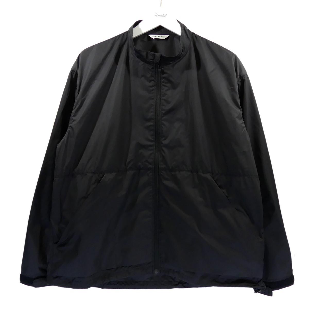 【中古】VAINL ARCHIVE 2020SS WB-JKT ジップアップジャケット ブラック サイズ:M 【260620】(ヴァイナル アーカイブ)