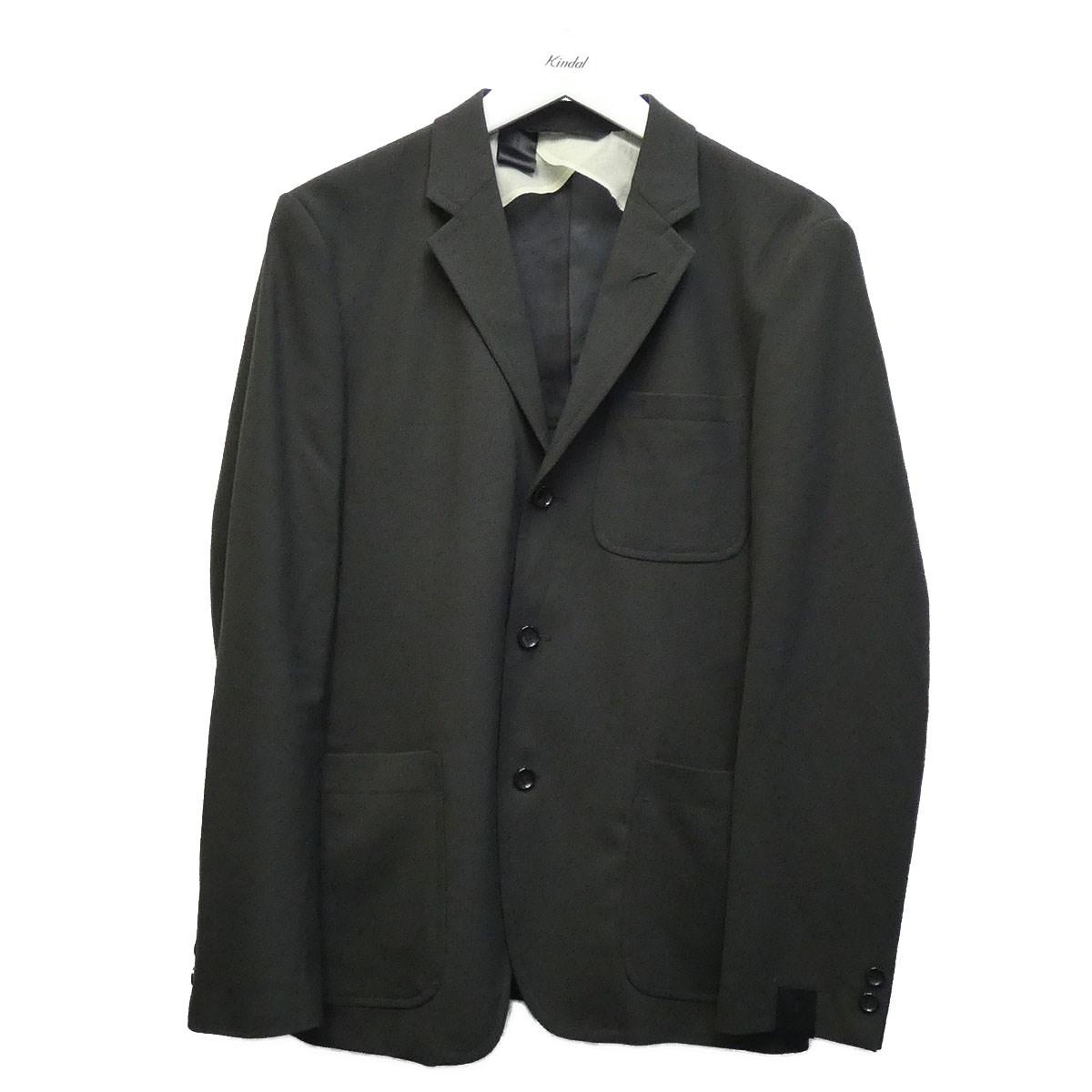 【中古】N.HOOLYWOOD 18AW テーラードジャケット チャコールグレー サイズ:38 【270620】(エヌハリウッド)