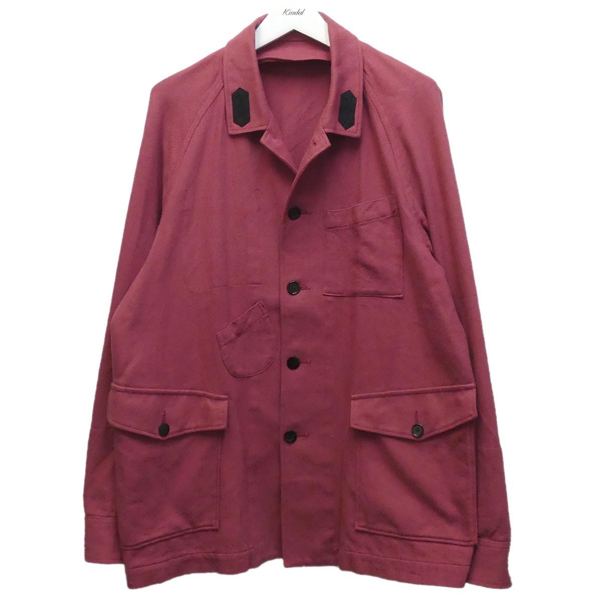 【中古】UNDERCOVER 18SS 袖裏配色ブルゾン カバーオール ピンク サイズ:3 【280620】(アンダーカバー)
