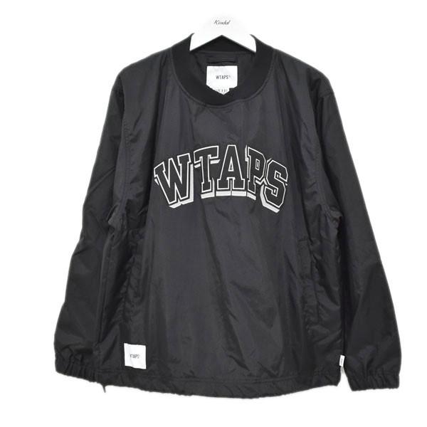 【中古】WTAPS 20SS SMOCK プルオーバージャケット ブラック サイズ:1 【290620】(ダブルタップス)