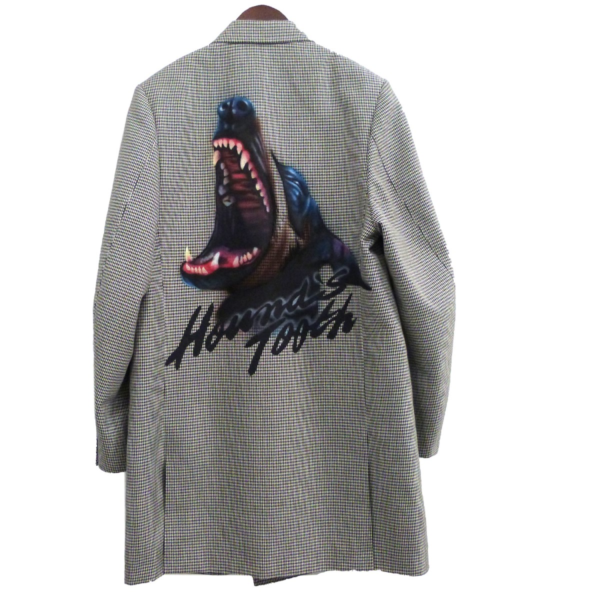 【中古】doublet 20SS「Pe/W HAND-PAINTED LONG TAILORED JACKET」 グレー サイズ:S 【290620】(ダブレット)