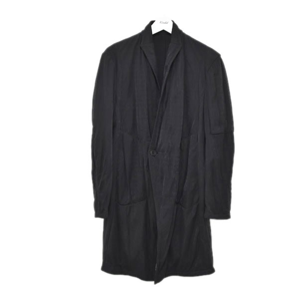 【中古】JULIUS 19AW LOZENGE STAND COLLAR JACKET ローゼンジスタンドカラージャケット ブラック サイズ:1 【290620】(ユリウス)