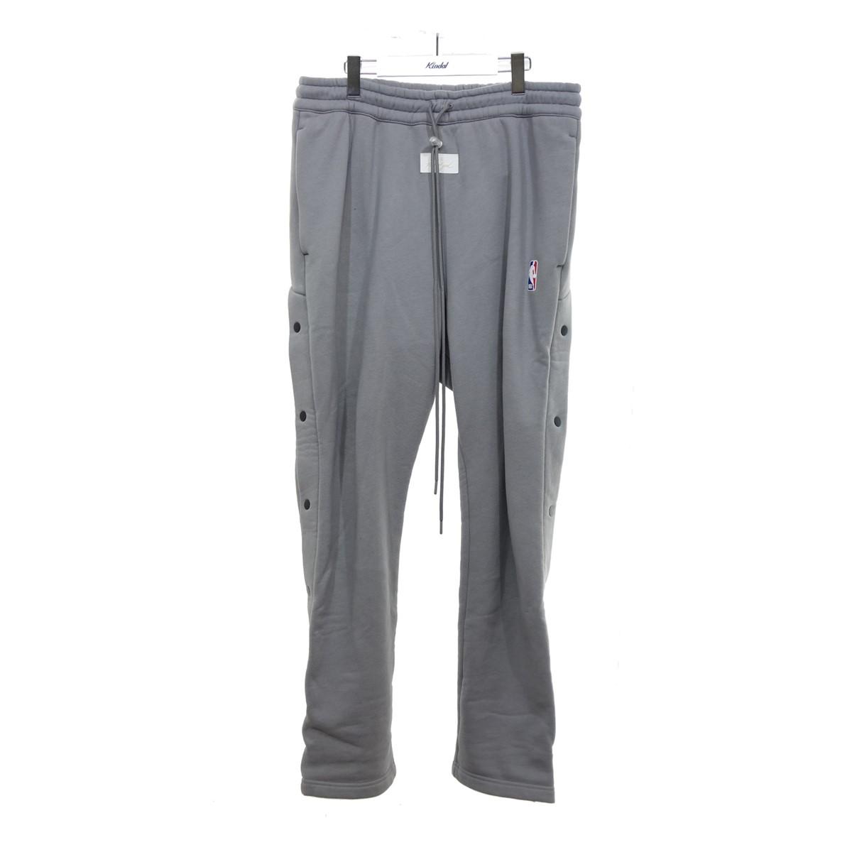 【中古】NIKE 【BV5791-003】×FEAR OF GOD Warm Up Pants ライトグレー サイズ:M 【300620】(ナイキ)