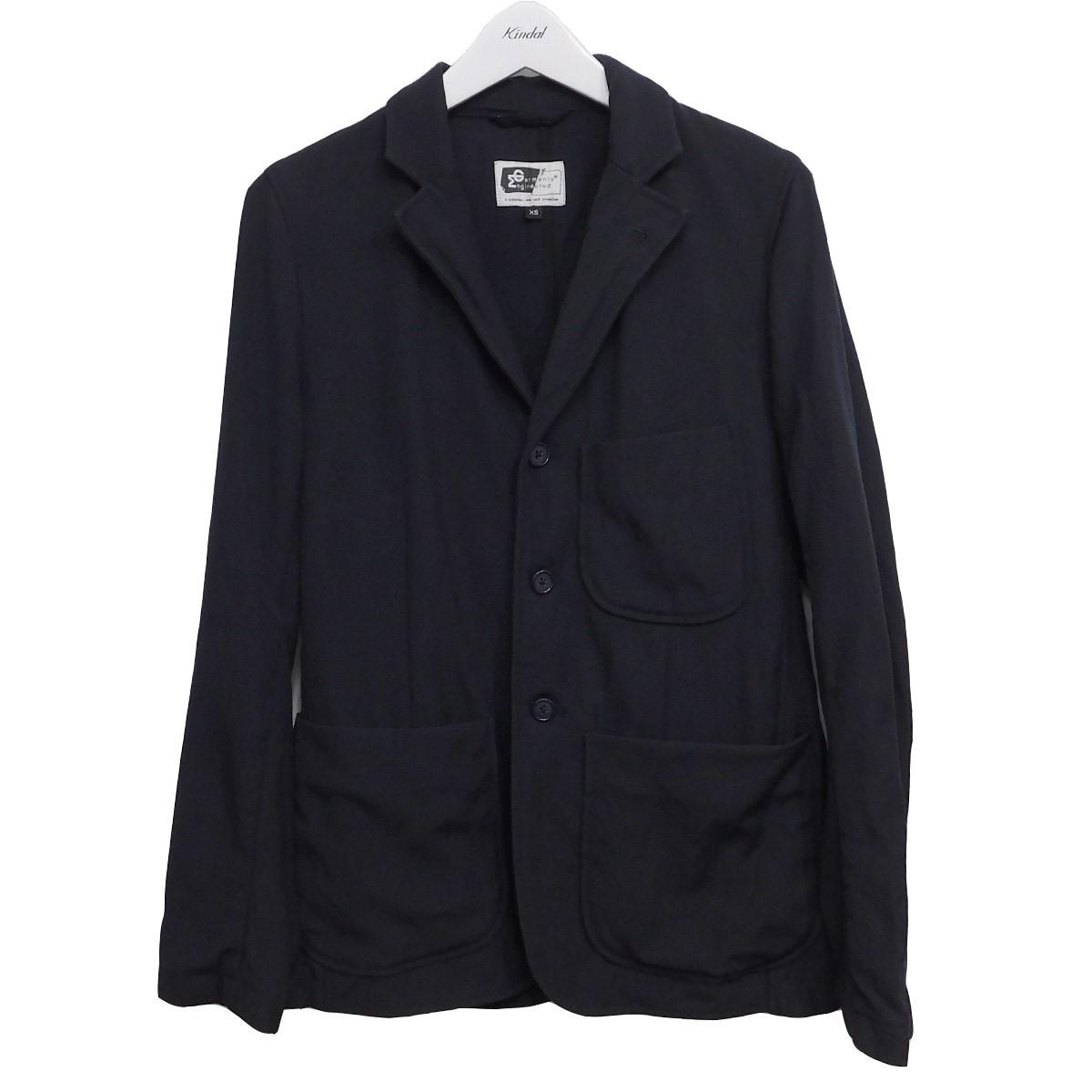 【中古】Engineered Garments Baker Jacket バイカージャケット ネイビー サイズ:XS 【300620】(エンジニアードガーメンツ)