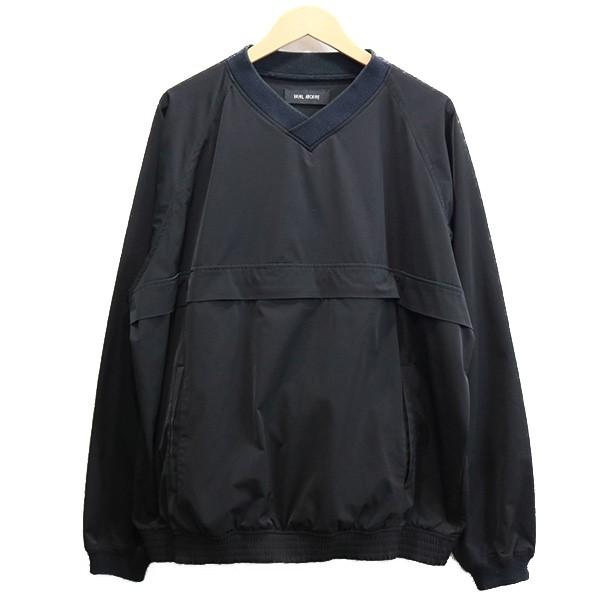【中古】VAINL ARCHIVE 17SS T-PARK プルオーバージャケット ブラック サイズ:L 【010720】(ヴァイナル アーカイブ)
