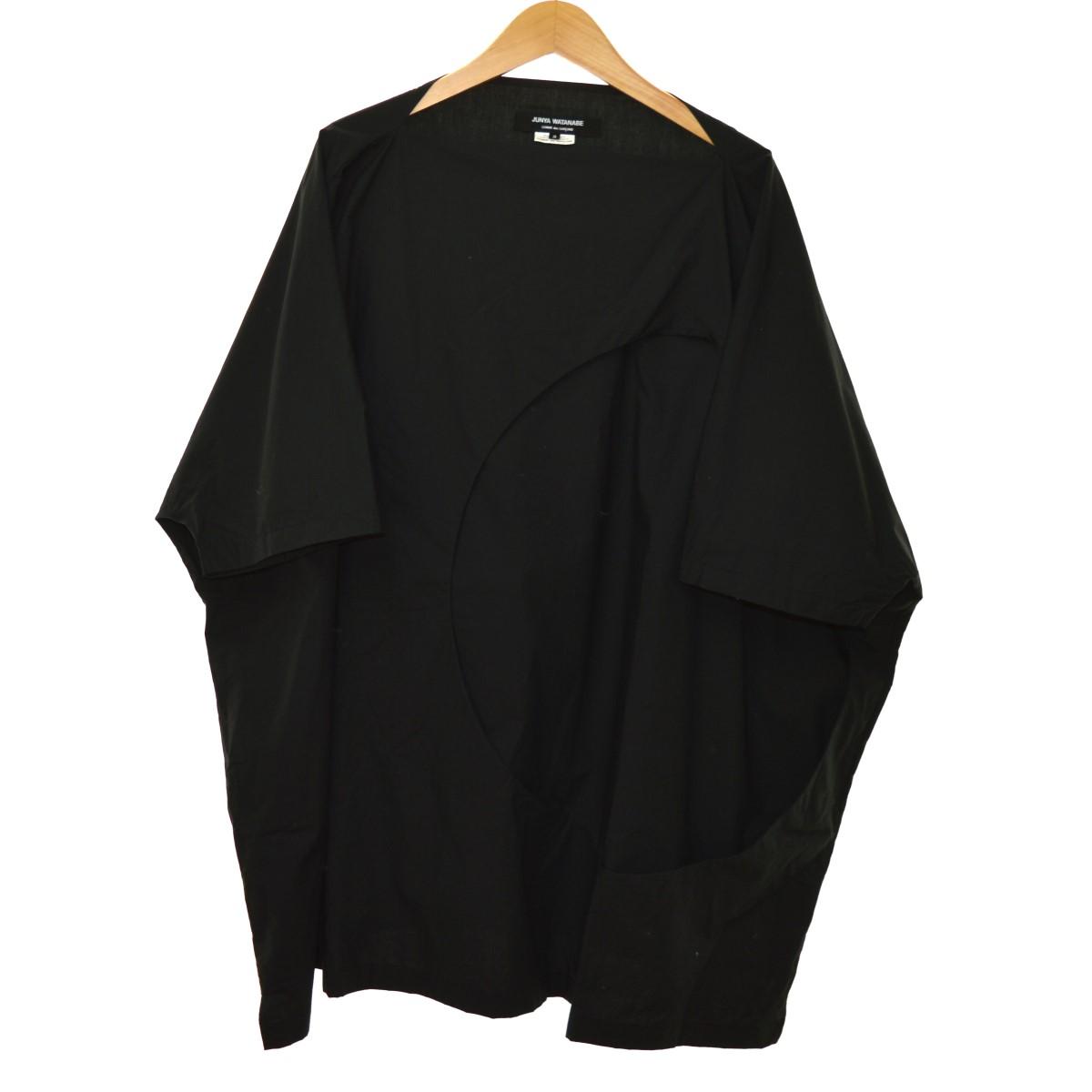 【中古】JUNYA WATANABE COMME des GARCONS 18SS デザインブラウス ブラック サイズ:S 【030720】(ジュンヤ ワタナベ コムデギャルソン)