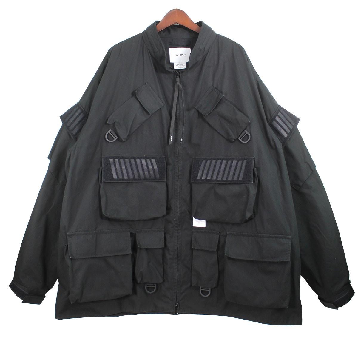 【中古】WTAPS 19AW MODULAR モジュラージャケット ブラック サイズ:4 【030720】(ダブルタップス)