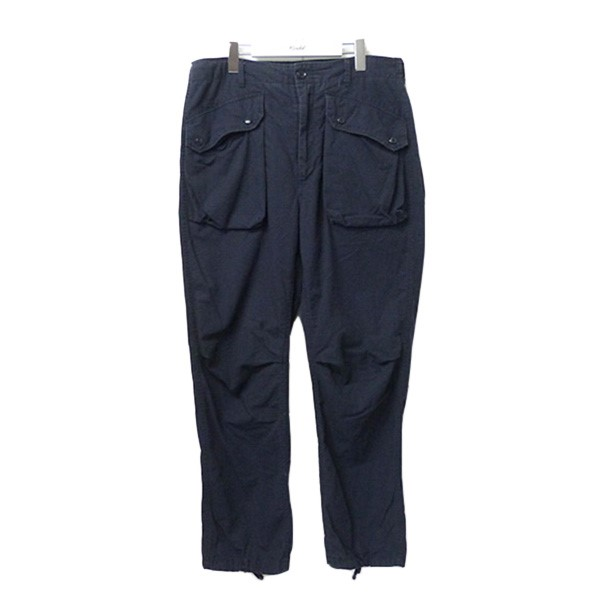 【中古】Engineered Garments NORWEGIAN PANT フラップポケットカーゴパンツ ネイビー サイズ:S 【040720】(エンジニアードガーメンツ)