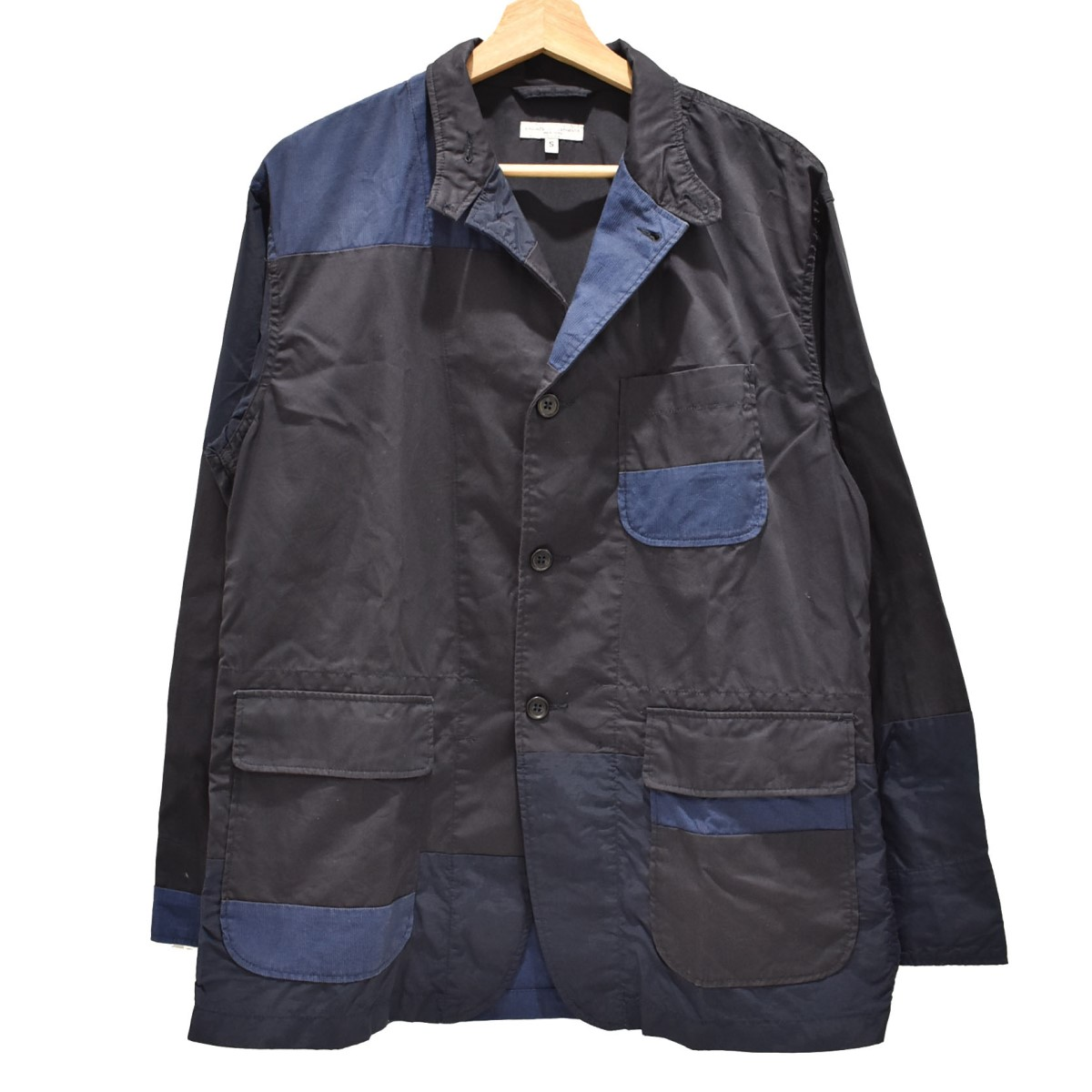 【中古】Engineered Garments 19SS Loiter Jacket-High Count Twill ロイタージャケット ネイビー サイズ:S 【040720】(エンジニアードガーメンツ)