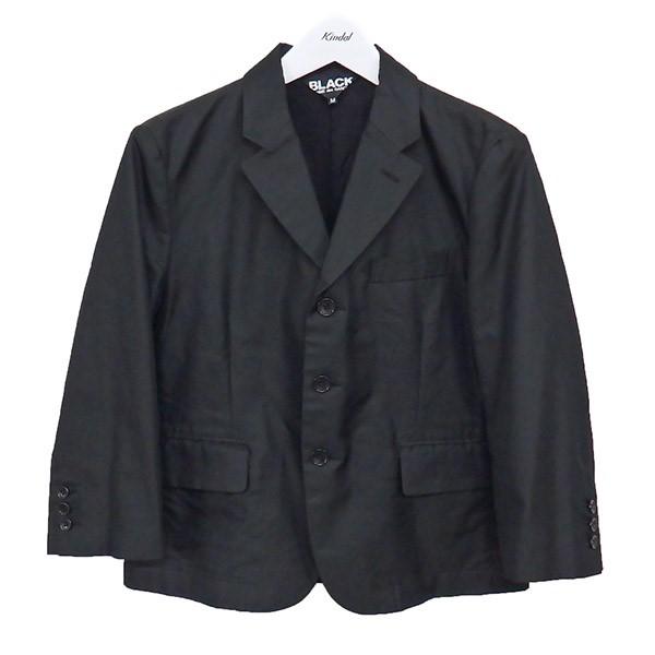 【中古】BLACK COMME des GARCONS 16SS ジャケット ブラック サイズ:M 【060720】(ブラック コムデギャルソン)