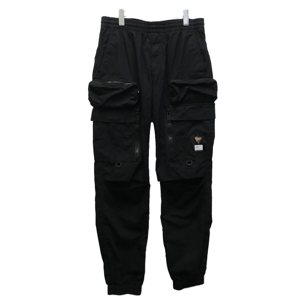 【中古】UNDERCOVER UCW4501 19SS ウェザーアーミーパンツ ブラック サイズ:3 【060720】(アンダーカバー)
