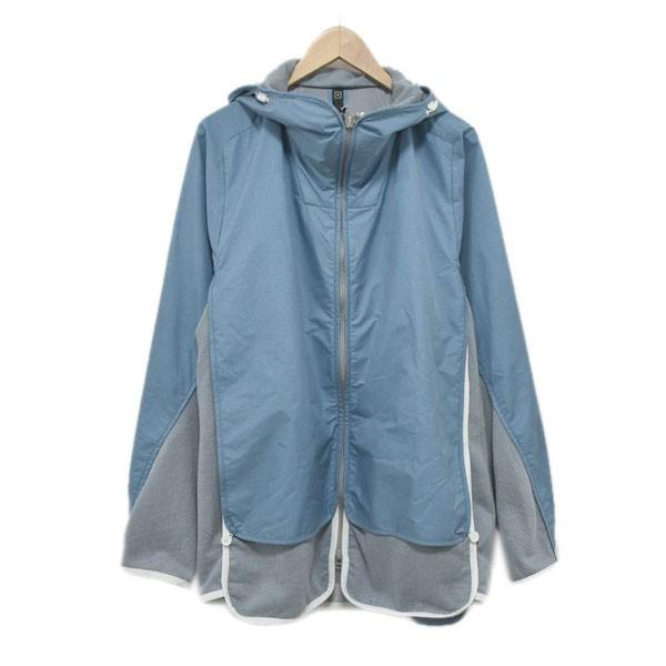 【中古】BYBORRE マウンテンパーカー GORE TEX S-Hybrid Hooded Jacket ブルー サイズ:EUR:M, JPN:L 【070720】(バイボレ)