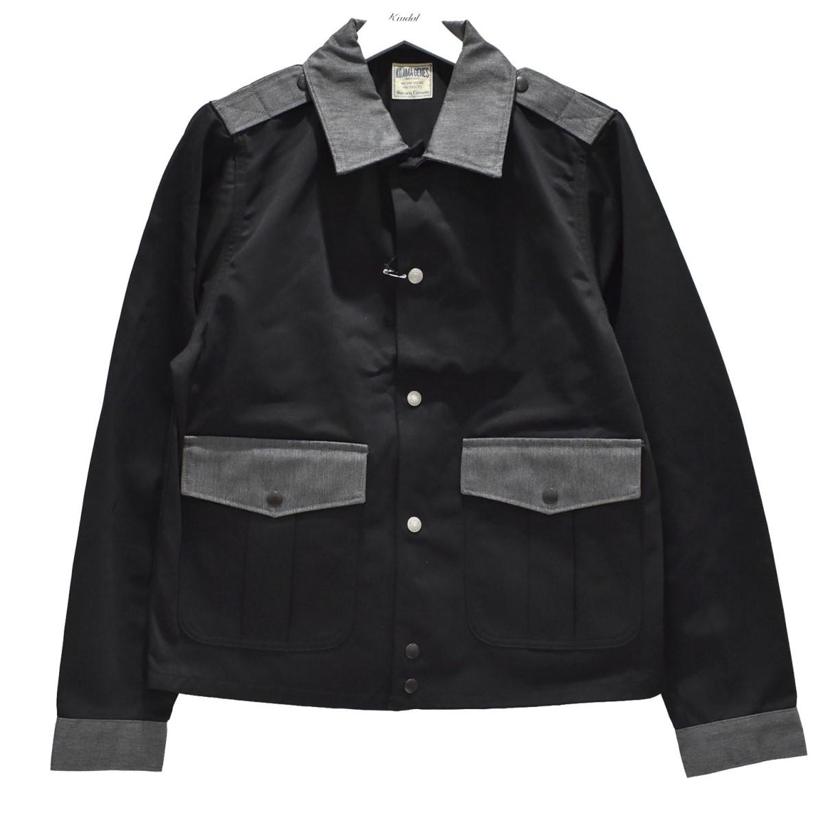 【中古】KOJIMA GENES ポリスマンジャケット POLICEMAN JACKET ブラック サイズ:L 【080720】(コジマジーンズ)