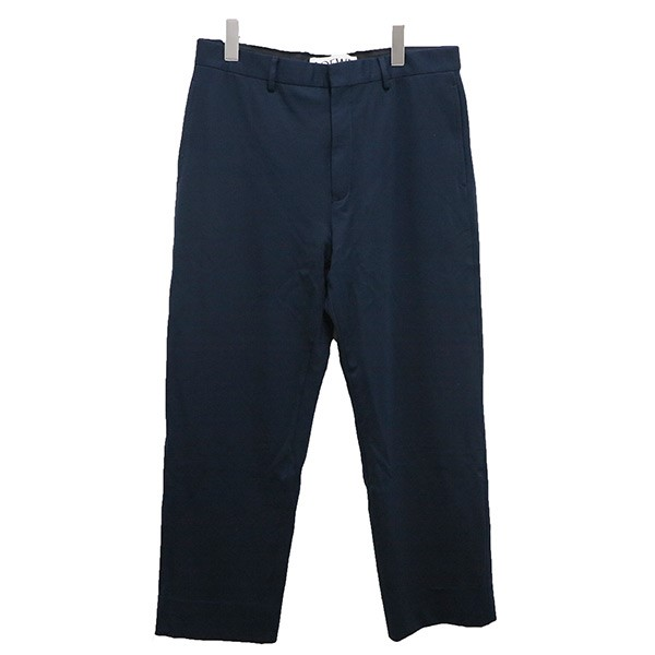【中古】LOEWE スラックスパンツ15AW ネイビー サイズ:40 【070720】(ロエベ)