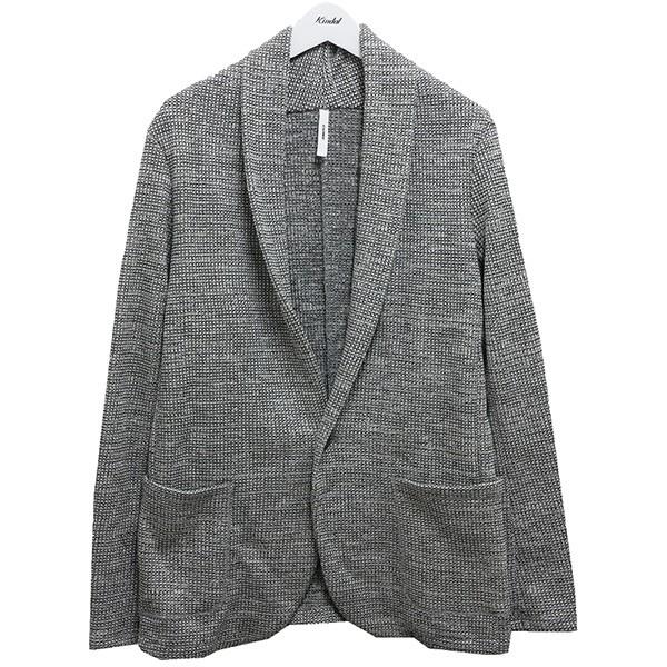 【中古】ATTACHMENT ワッフルストールジャケット19AW ホワイト×ブラック サイズ:4 【070720】(アタッチメント)
