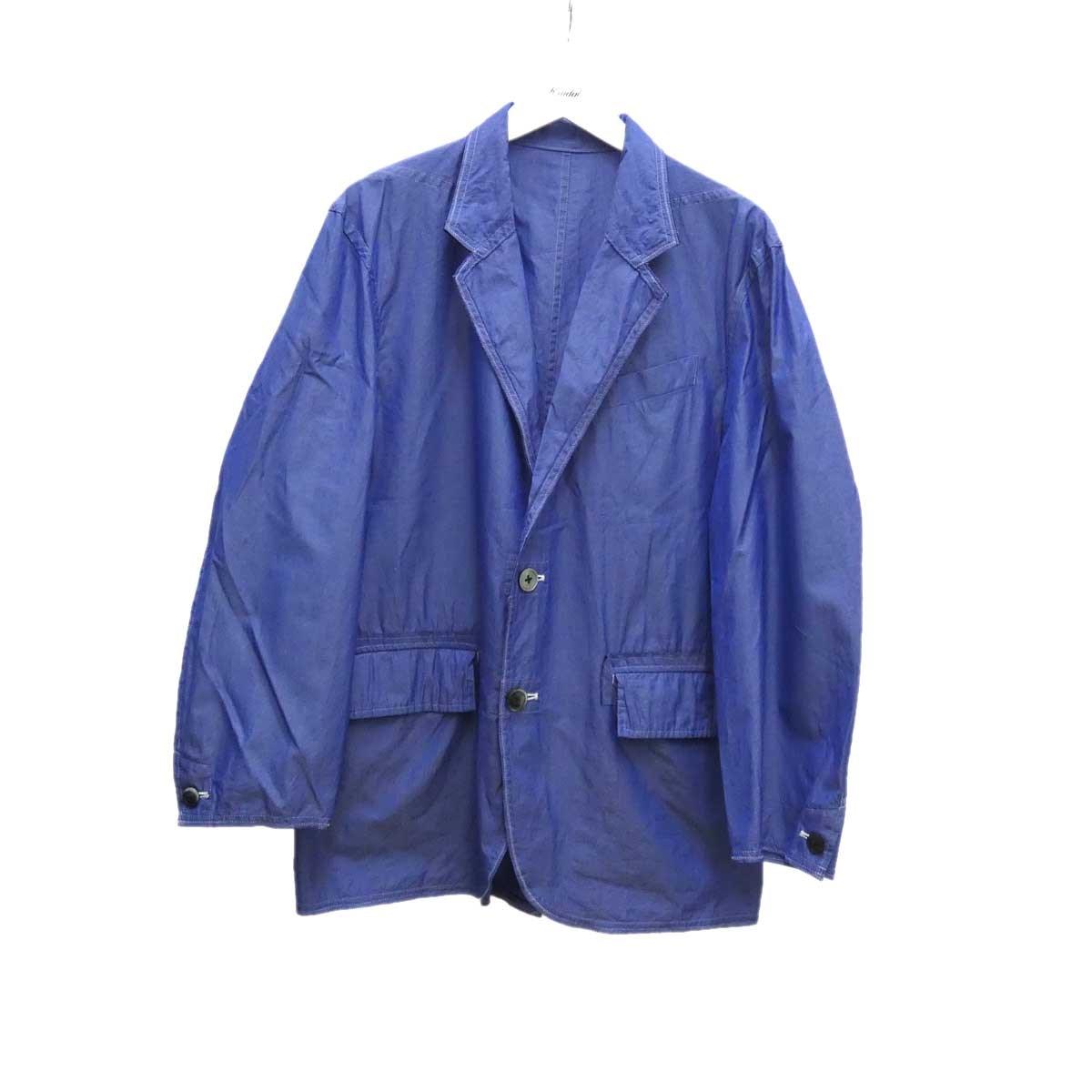 【中古】MAINU シャンブレージャケット スカイブルー サイズ:2 【090720】(マイヌ)