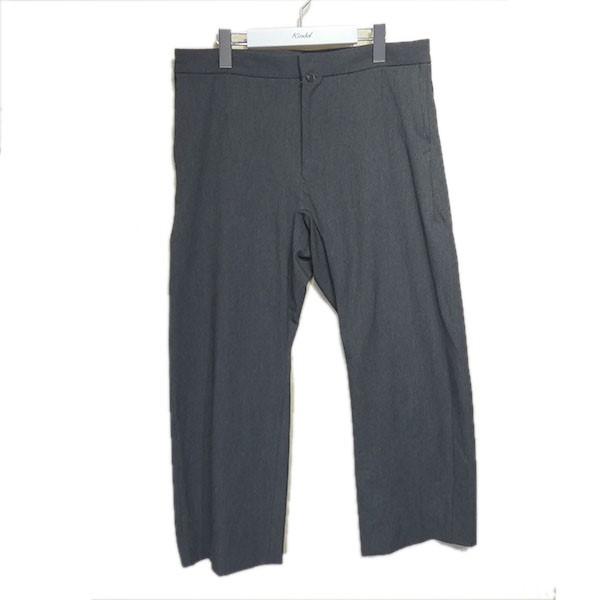 【中古】YAECA 「CONTEMPO 2WAY TAPERED PANTS」 テーパードパンツ グレー サイズ:S 【090720】(ヤエカ)