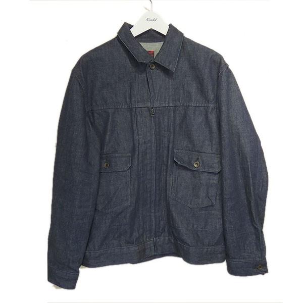【中古】BRU NA BOINNE メイビーノットジャケット インディゴ サイズ:3 【090720】(ブルーナボイン)