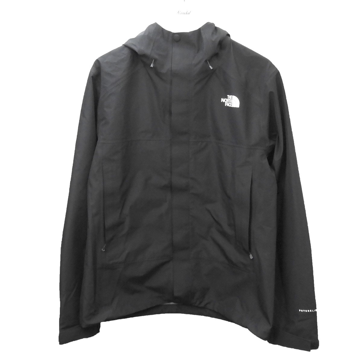 【中古】THE NORTH FACE 「FL Drizzle Jacket」ドリズルジャケット ブラック サイズ:L 【100720】(ザノースフェイス)