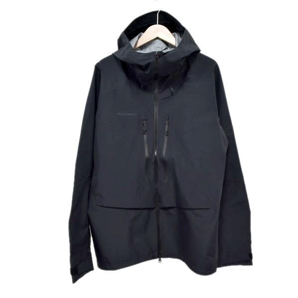 【中古】MAMMUT Teton HS Hooded Jacket AF Men マウンテンパーカー ブラック サイズ:JPN 2XL 【090720】(マムート)