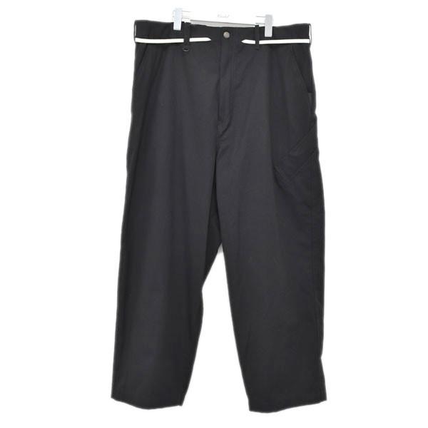 【中古】Y-3 M CANVAS WORKWEAR WIDE PANTS ワイドパンツ ブラック サイズ:S 【110720】(ワイスリー)