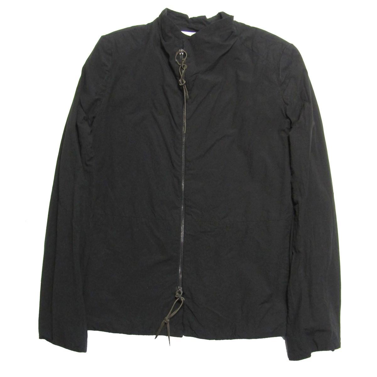 【中古】ATELIER SUPPAN ジップアップシャツジャケット ブラック サイズ:1 【120720】(アトリエスパン)
