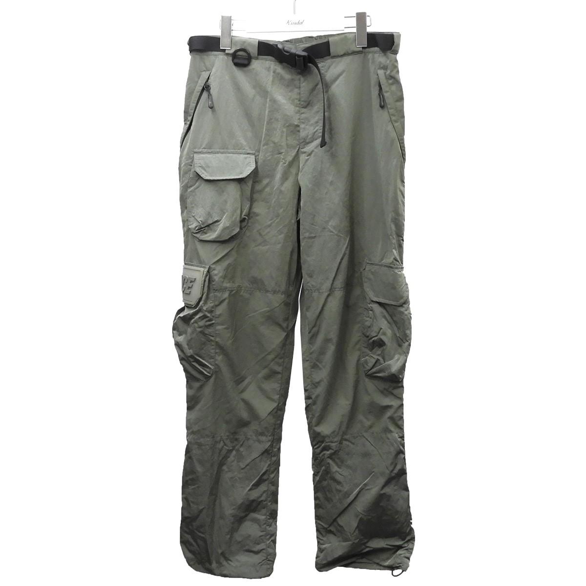 【中古】PALACE 19SS 「Utility Iridescent Pant」 ユーティリティーイリディセントパンツ オリーブ サイズ:M 【140720】(パレス)