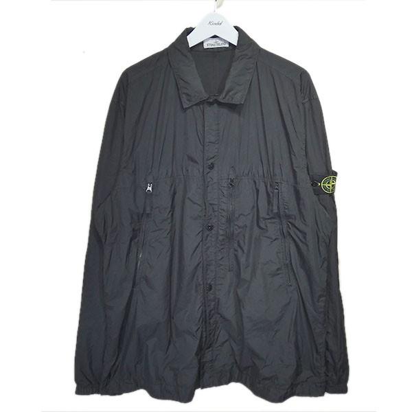 【中古】STONE ISLAND 2019SS ナイロンジャケット ブラック サイズ:3XL 【140720】(ストーンアイランド)